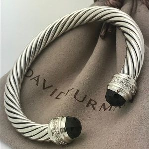 David Yurman 7mm Prasiolite Cable Bracelet